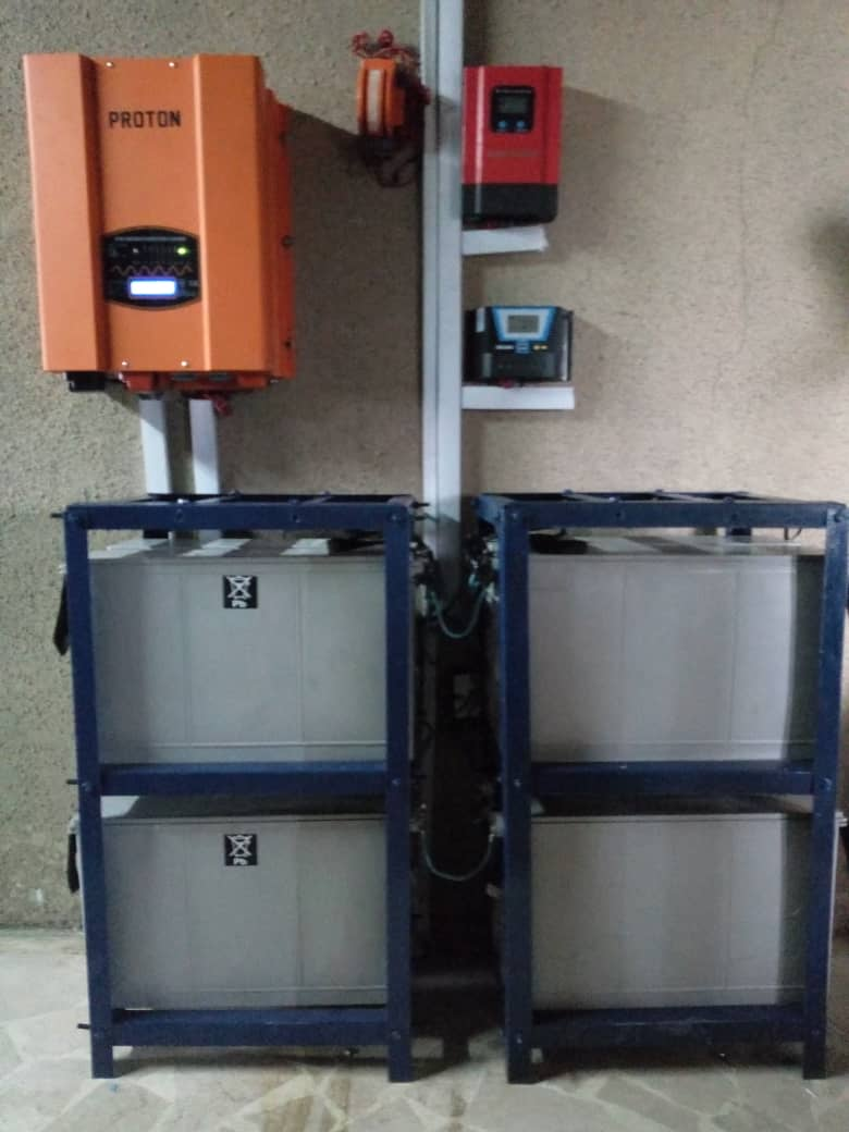 Power Inverter (4 Batteries)
